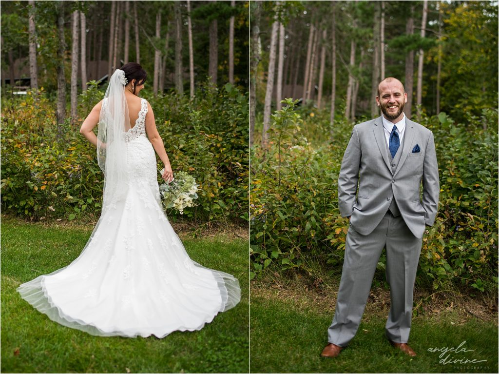 Grand View Lodge Wedding Bride and Groom