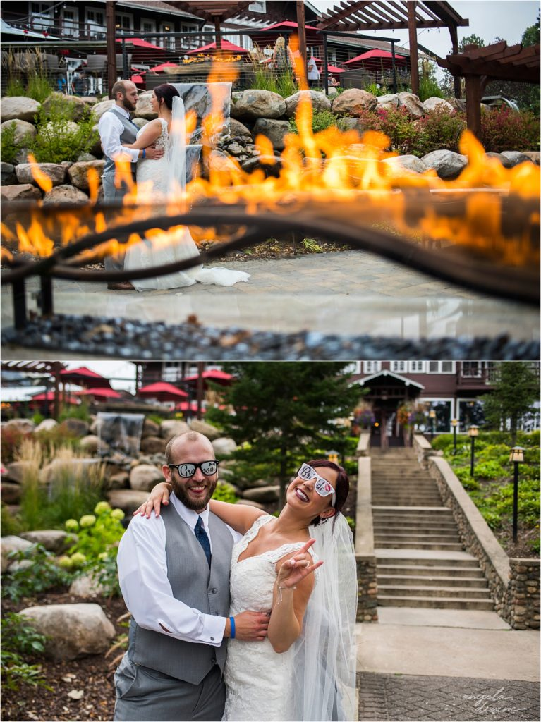 Grand View Lodge Wedding Outdoor