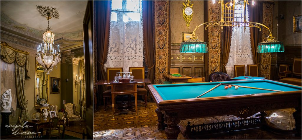 Punta Arenas Palace Museum pool room