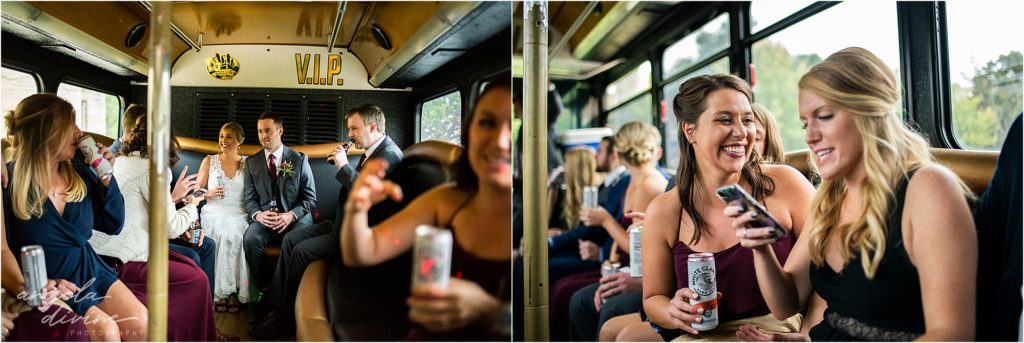 InterContinental St. Paul Riverfront Wedding transportation