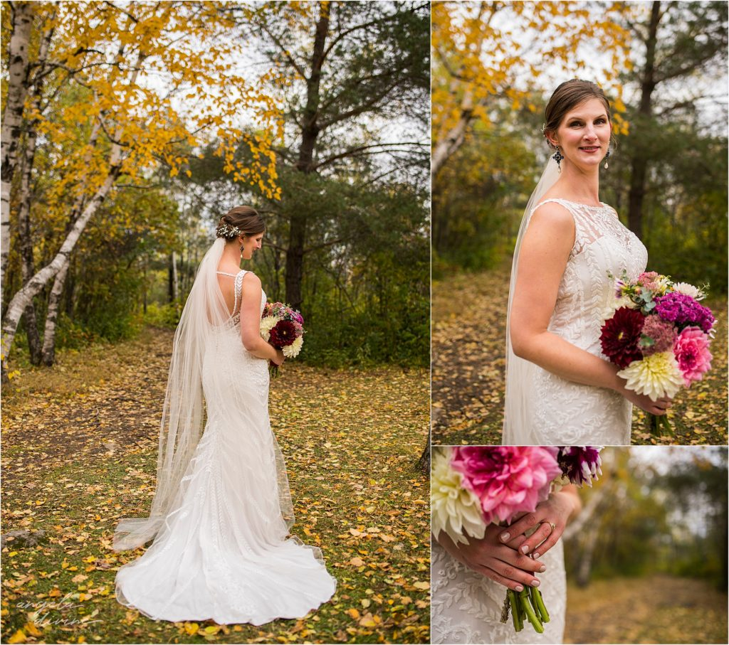 enger park duluth wedding bride