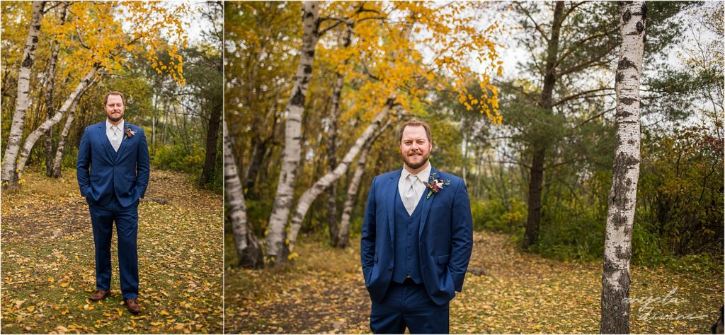 enger park duluth wedding groom