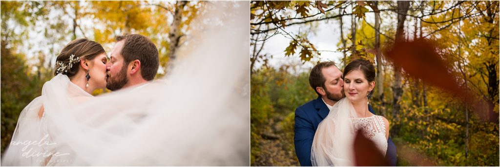 Fall enger park duluth wedding