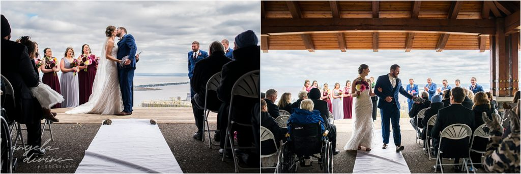 enger park duluth wedding ceremony celebration