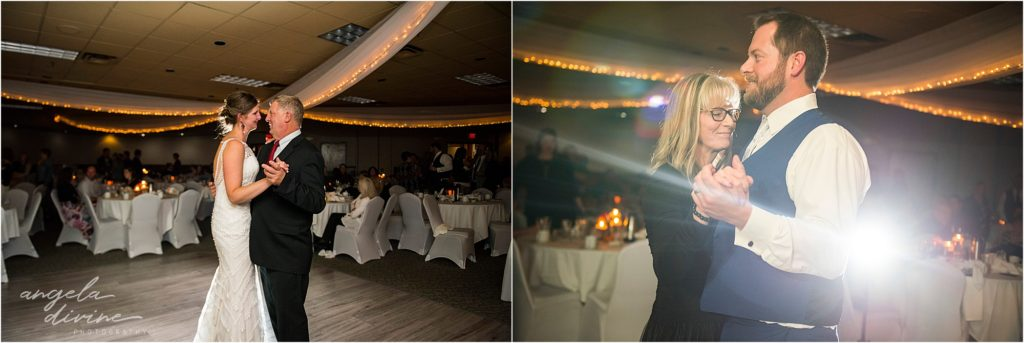 enger park duluth wedding Black woods event center father/daughter mother/son dance